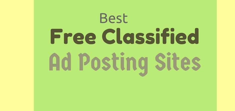 Top 10 free Classified Submission Site List In Dubai ,UAE And IT